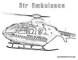 Best Helicopters Air Ambulance Coloring Pages For Kids Printable