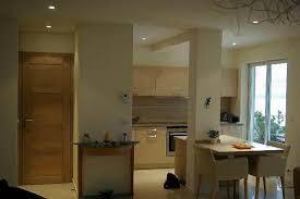 cuisine avec poteau au milieu cuisine équipée avec poteau au centre maison sylvie idées