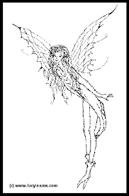 Fairy Coloring Pages For Kids To Print