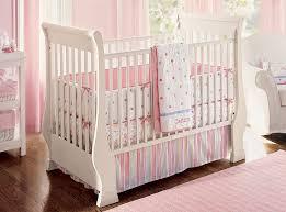 Shabby Chic Nursery Bedding by White Pink Baby Crib Bedding U2014 Derektime Design Tips Choosing