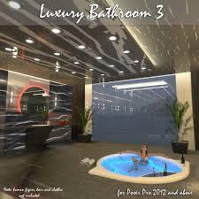 AJ Luxury Bathroom 3 3D Models AppleJack
