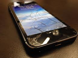 Broken iPhone 5S screen – Mission Repair – Specials and Gad Info