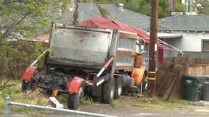 100 Valley Truck And Trailer Dump Truck Runs Over Driver Then Breaks Gas Line In Spring