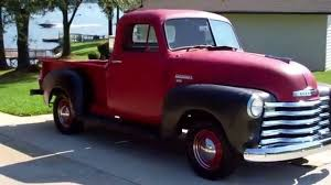 1951 Chevy Truck Tour And Ride - YouTube