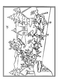 Le Traîneau Du Père Noël 3239 Traineau Pere Noel Coloriage Dessin