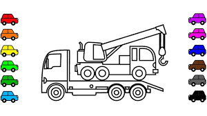 Learn Colors With Crane Truck Coloring Pages, Construction Truck ... Cstruction Trucks Coloring Page Free Download Printable Truck Pages Dump Wonderful Printableor Kids Cool2bkids Fresh Crane Gallery Sheet Mofasselme Learn Color With Vehicles 4 Promising Excavator For Coloring Page For Kids Transportation Elegant Colors With Awesome Of
