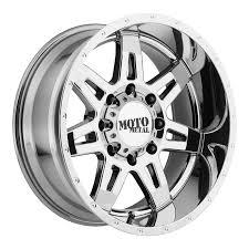 100 Discount Truck Wheels Moto Metal MO975 MultiSpoke Chrome