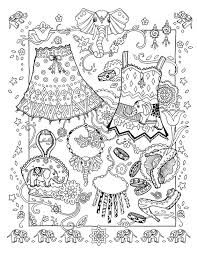 IColor Fashion Fantasy Elegant Elephants Adult Coloring PagesColoring BooksBarbie