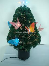 Small Fiber Optic Christmas Tree With Ornaments by Colorful Butterfly Firework Fiber Optical Led Christmas Tree With