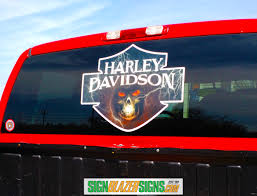 100 Custom Window Decals For Trucks Harley Decal SignBlazerSigns