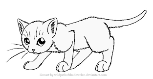 Coloring Sheets Good Warrior Cat Pages