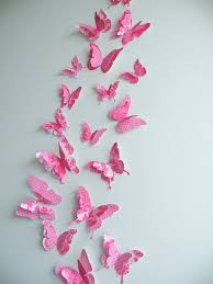 Paper Butterfly Wall Art Decoration Home Design 22