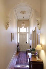 light ideas entry with narrow space narrow entry