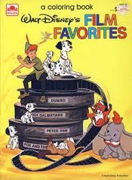 Disney Film Favorites Coloring Book Golden Books 1983
