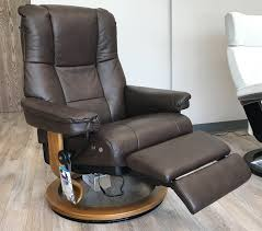 Stressless Mayfair LegComfort Paloma Chocolate Leather Recliner ... Recling Armchair Vibrant Red Leather Recliner Chair Amazoncom Denise Austin Home Elan Tufted Bonded Decor Lovely Rocking Plus Rockers And Gliders Electric Real Lift Barcalounger Danbury Ii Tempting Cameo Dark Presidental Wing Power Recliners Chairs Sofa Living Room Swivel Manual Black Strless Mayfair Legcomfort Paloma Chocolate Southern Enterprises Cafe Brown With Bedrooms With