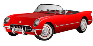 Red Clipart Vintage Car 1