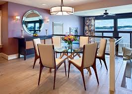 Dining Room Chairs For Glass Table by Round Glass Dining Tables That Make A Stylish Impression