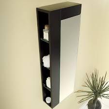 Tall Bathroom Corner Cabinets With Mirror by Amazon Com Fresca Bath Fst1024es Bathroom Linen Side Cabinet With