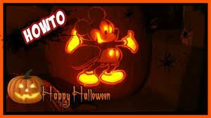 Minnie Mouse Pumpkin Carving by How To Carve A Mickey Mouse Pumpkin Walkthrough Tutorial With
