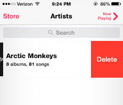 How to Delete Individual Albums in iOS 8 Music App on iPhone iPad
