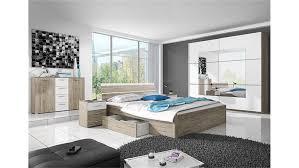 schlafzimmer set berlin san remo eiche hell und weiß 4 tlg