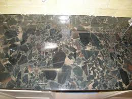 cleaning and sealing black granite countertops