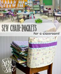 Sew Chair Pockets For A Classroom! (the Fast & Easy Way ...