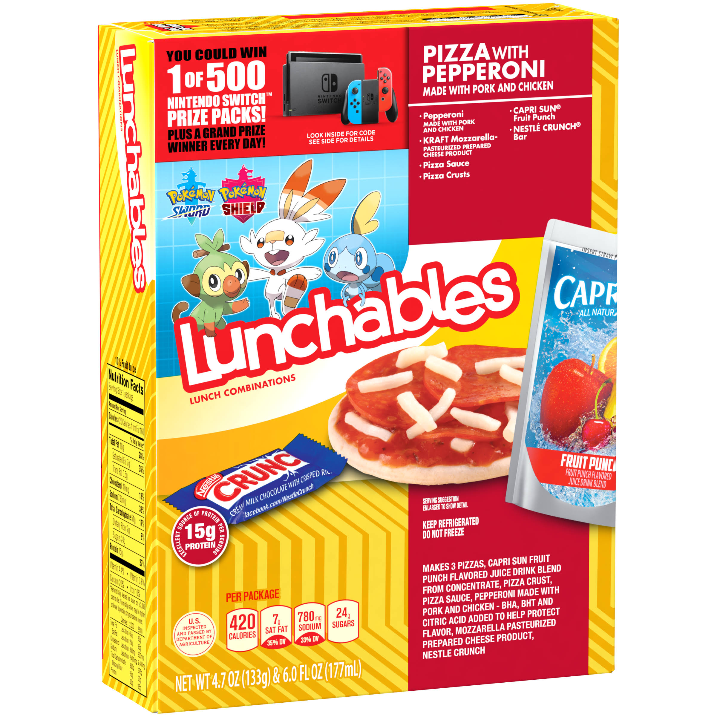 Lunchables Pizza With Pepperoni Lunch Combination - 177ml