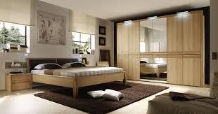 schlafzimmer mit bett 180 x 200 cm eiche bianco teilmassiv