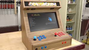 Mame Cabinet Plans Download by Bartop Arcade W Raspberry Pi The Wood Whisperer