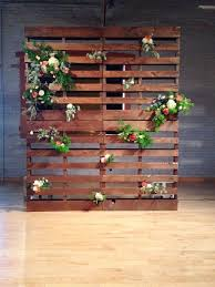 Pallet Backdrop Wood Stained In A Beautiful Mid Tone We