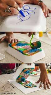 I Like The Idea Of Making Home Made Stamps This Teaches Kids That Something You Can Easily Buy In A Store Also Make