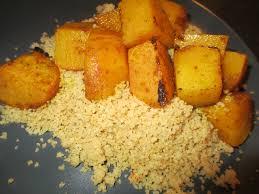 cuisiner rutabaga navet rutabaga confit accompagné de semoule complète cuisine