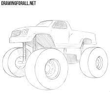 How To Draw A Monster Truck | DrawingForAll.net How To Draw An F150 Ford Pickup Truck Step By Drawing Guide Dustbin Van Sketch Drawn Lorry Pencil And In Color Related Keywords Amp Suggestions Avec Of Trucks Cartoon To Draw Youtube At Getdrawingscom Free For Personal Use A Dump Pop Path The Images Collection Of Food Truck Drawing Sketch Pencil And Semi Aliceme A Cool Awesome Trailer Abstract Tracing Illustration 3d Stock 49 F1 Enthusiasts Forums