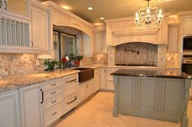 country kitchen with farmhouse sink complex granite counters in