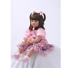 24 Cute Reborn Princess Baby Girl Doll Soft Vinyl Realistic Alive