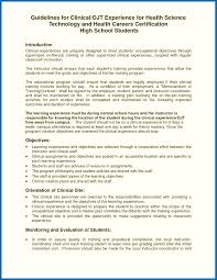 Resume Objectives Examples For Ojt Computer Science Students Perfect