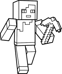 New Free Minecraft Coloring Pages 34 On For Adults With