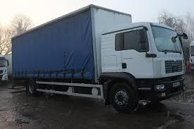 18 Tonne MAN TGM 18.240 Curtainsider Truck For Sale MX08FLK   MV ...