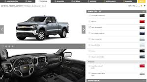 The 2019 Chevrolet Silverado Configurator Is Completely Customized