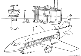 Lego Airport City Coloring Pages Print Download 448 Prints