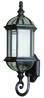 trans globe lighting 4180 bk outdoor wentworth 22 25 wall lantern