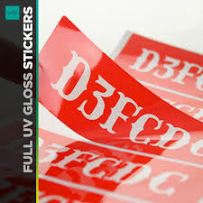 Durable Full Color Stickers Great For Packaging Printed In USA