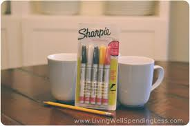 Decorating Fabric With Sharpies by Diy Sharpie Mugs Diy Painted Mugs