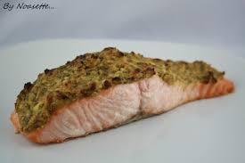 pavé de saumon a la moutarde recettes a gogo