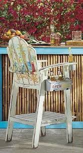 Custom Painted Margaritaville Adirondack Chairs by Margaritaville Painted