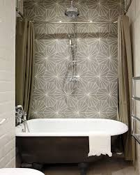 28 Creative Tile Ideas For The Bath And Beyond | Freshome.com Best Bathroom Shower Tile Ideas Better Homes Gardens This Unexpected Trend Is Pretty Polarizing Traditional Classic 32 And Designs For 2019 Kajaria Bathroom Tiles Design In India Youtube 5 Tips Choosing The Right School Wall Height How High Fireclay 40 Free For Why 30 Design Backsplash Floor Indian Wall A New World Of Choices Hgtv