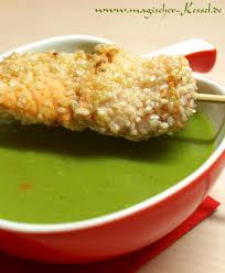 schnelle küche suppe aus grünen erbsen laktosefrei