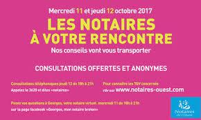 chambre des notaires du finistere rencontre notariales 2017 infos pratiques chambre des notaires