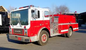 Vintage Mack Fire Truck | Gallery | Eastern Surplus